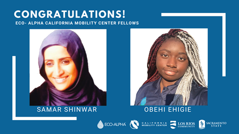 Eco-Alpha California Mobility Center Fellow Interns 2020